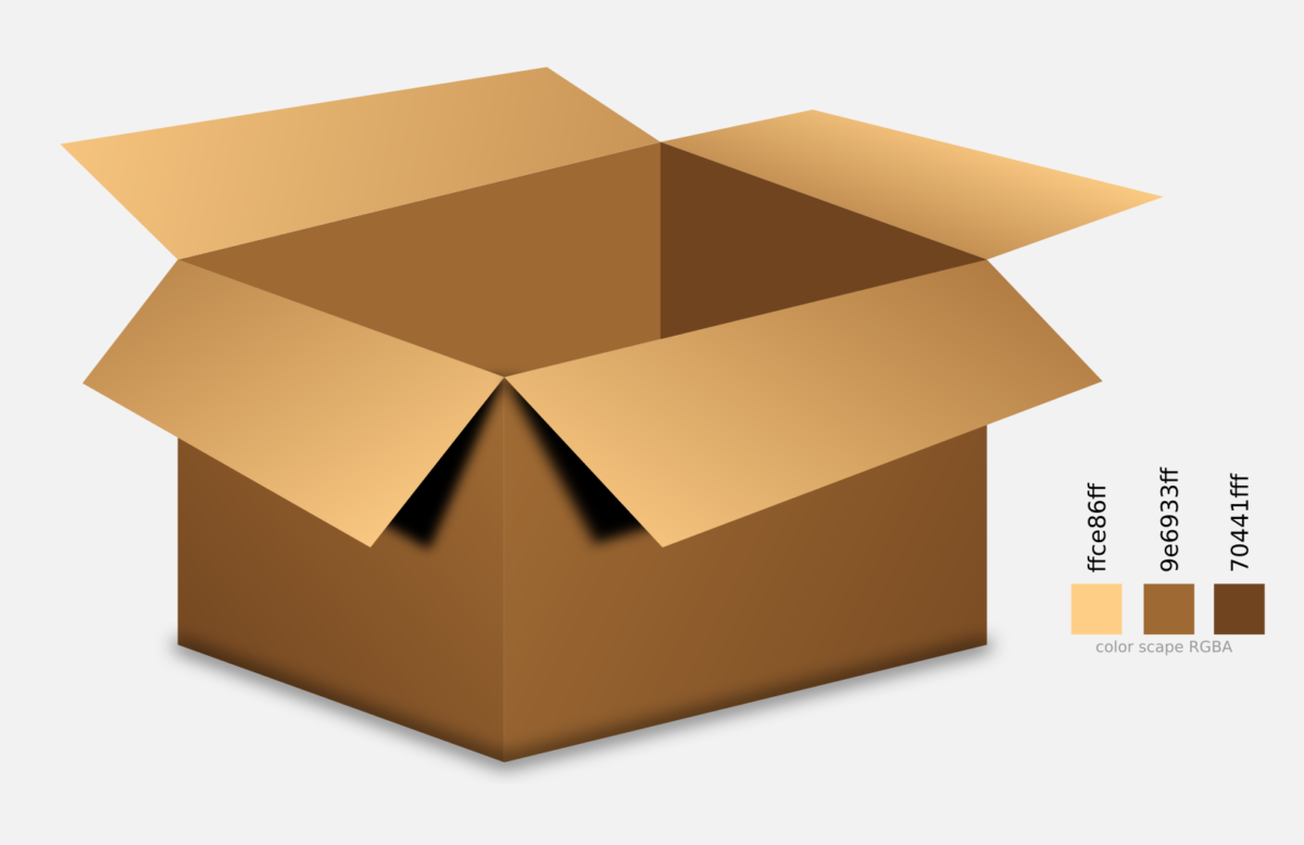 Inkscape – Creating Vector Realistic Box