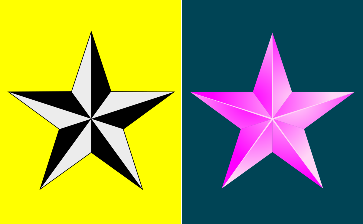 Inkscape – Star Pyramid